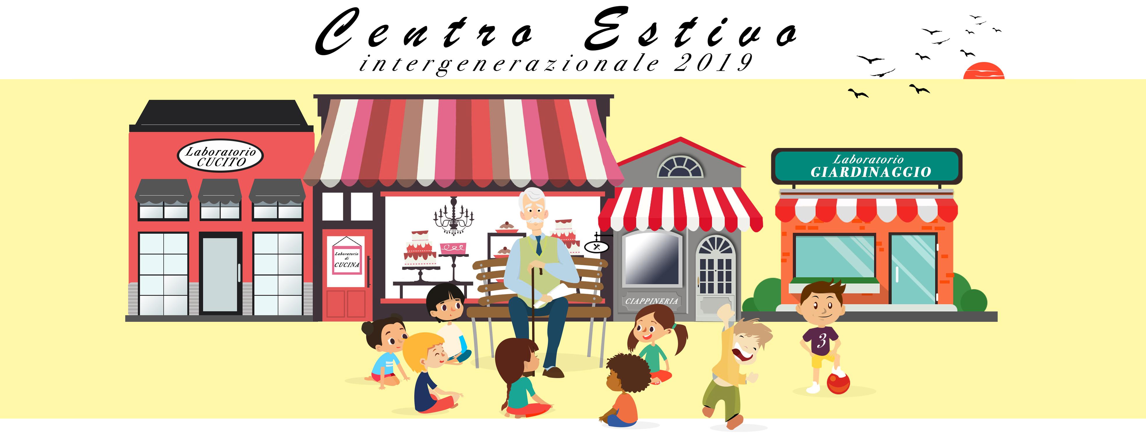 centro estivo intergenerazionale 2019 organizzato da Aps Bolab in collaborazione con Villa Bernaroli