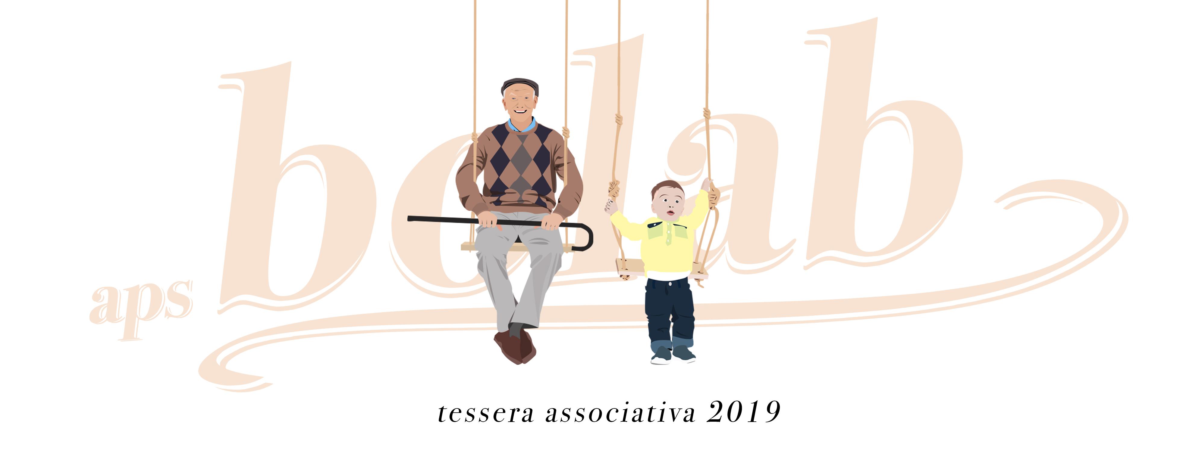 tessera associativa anno 2019 Aps Bolab